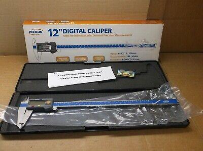 Mtec-12 Oshlun New In Box 12 Inch Stainless Steel Digital Caliper Mtec12
