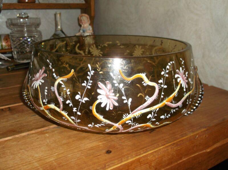 Large Moser enamel salamander  fish bowl
