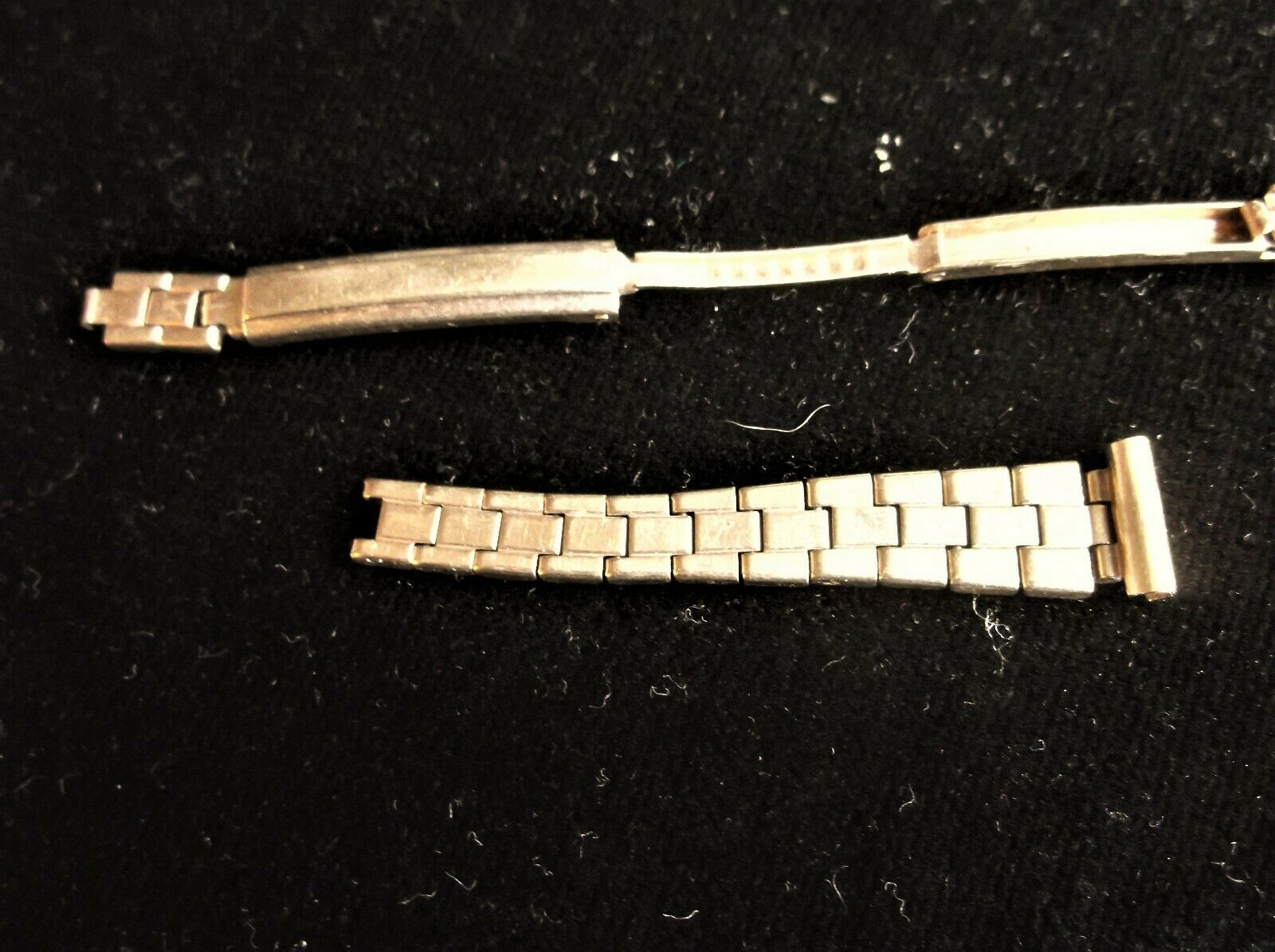 VINTAGE 9CT GOLD OMEGA PART WATCH STRAP FOR REPAIRS OR SCRAP 1959 MWF 6g