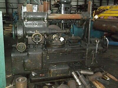 Brown Sharpe Gear Hob Hobber Gear Hobbing Machine