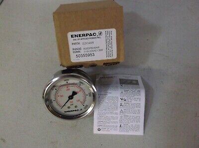 Enerpac G2534r Pressure Gauge 0 To 6000 Psi 2-12in