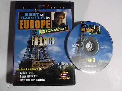 Best of Travels in Europe - France (DVD, 2001) Questar PBS's Rick (Best Of France Travels)