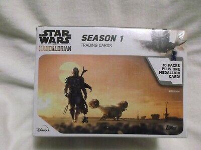 Sealed Topps 2020 Star Wars The Mandalorian Season 1 Trading Cards Blaster Box