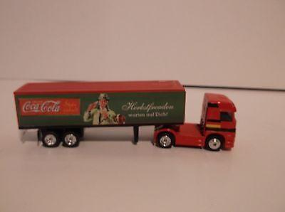 Coca Cola Matchbox Mercedes Benz 1/97 Semi Truck