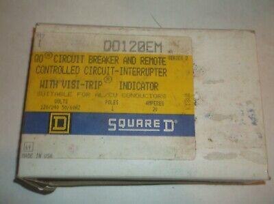 Qo120em Square D 20 Amp Circuit