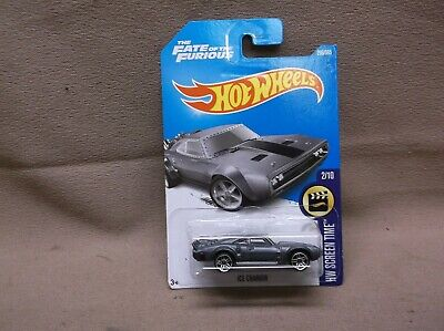 HOT WHEELS GREY 2017 #266 DODGE ICE CHARGER HELLCAT MOPAR FATE FAST & FURIOUS