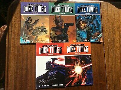 Star Wars Dark Times Volumes 1,2,4,5,6 Graphic Novels Blue Harvest Dark Horse
