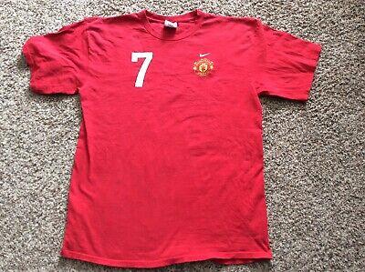NIKE Manchester United #7 C. RONALDO Tee Shirt for sale  Belgrade