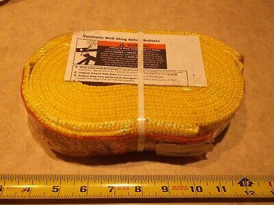 Lift-all En1802nx10 - Web Sling Type 5 Nylon 2inw 10 Ft.l