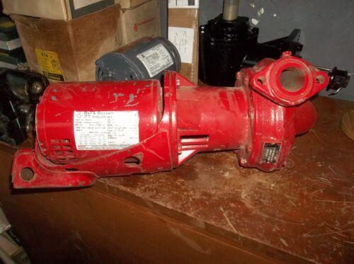 BELL & GOSSETT Motor Hot Water Circulator Pump 1/3 HP, 3 PH, 1725 RPM, 903579