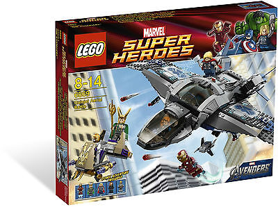 LEGO Super Heroes - Rare - Quinjet Aerial Battle 6869 - New & Sealed