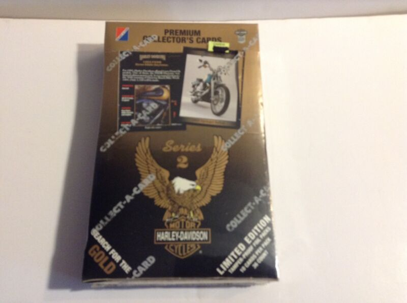"""""""Harley-Davidson - SERIES 2 - Limited Edition - Premium Collector Cards"""", sealed"""