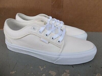 NWT MEN'S VANS CHUKKA LOW SNEAKERS/SHOES SIZE 9.MARSHMALLOW.BRAND NEW FOR 2020.