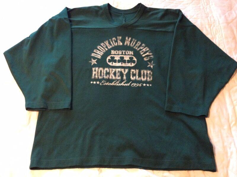 Dropkick Murphys Jersey Boston Hockey Club The Warriors Code Green #17 Large