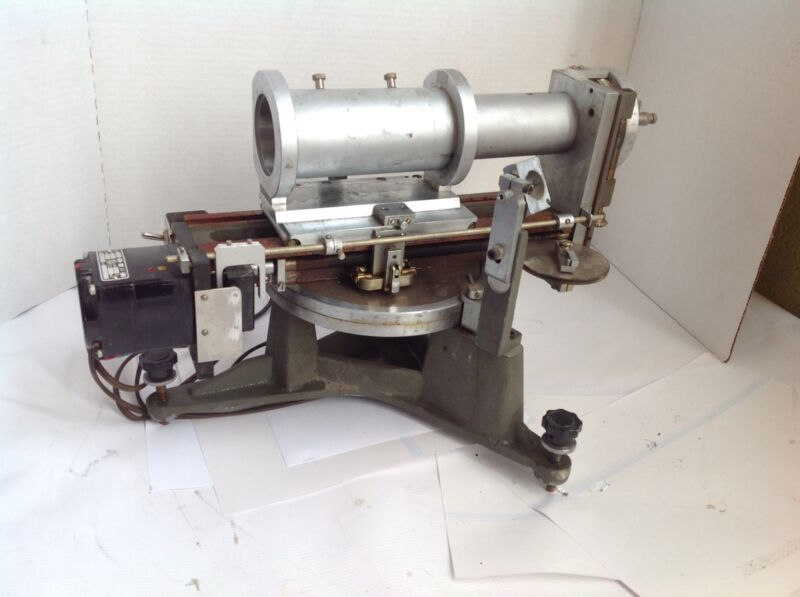 Charles Supper Co.Goniometer Diffraction Vintage 115V,8.5Watt,type KYC-23RM