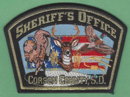 CORSON COUNTY SHERIFF SOUTH DAKOTA SHOULDER PATCH