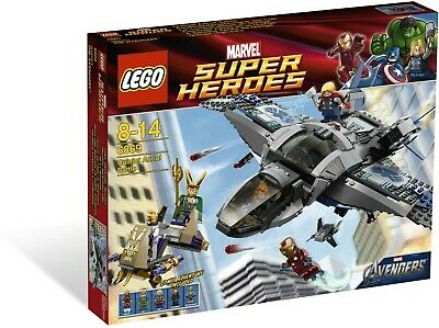 Lego Marvel Super Heroes 6869 Quinjet Aerial Battle Set - No Minifigures or Box