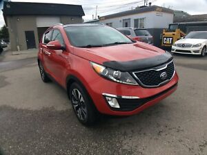 2013 Kia Sportage SX - FULL LOADED! 2.0TURBO/AWD/H&C LEATHER/NAV