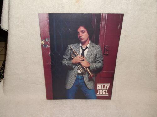 Billy Joel Tour Program With Stubs