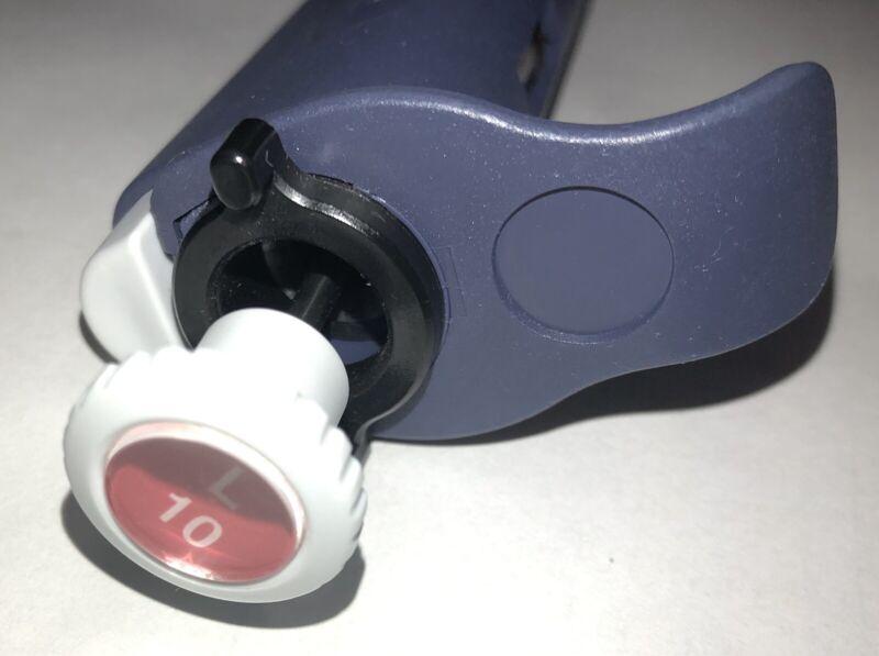 Mettler Toledo Rainin 1ch Pipet-lit Adjustable Pipette Pipettor L-10 0.1-10uL EX