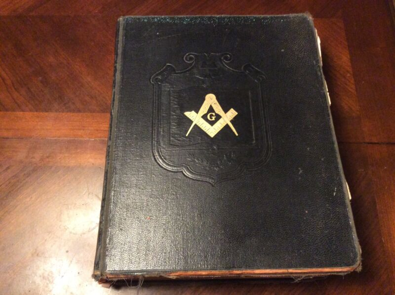 Vintage Holman Masonic Lodge Scottish Rite Holy Bible