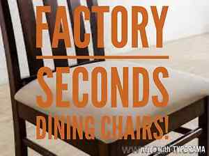 DINING CHAIRS - FACTORY SECONDS  50%-80% OFF RRP Granville Parramatta Area Preview