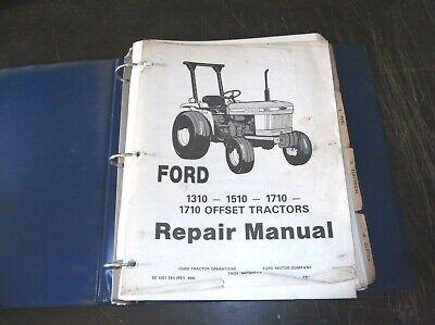 Ford 1310 1510 1710 1710 Offset Tractors Service Repair Manual