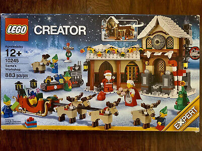 LEGO Creator Santa's Workshop #10245 Expert Brand New! All Bags Factory Sealed!