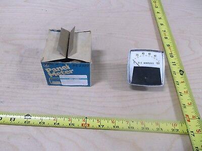 Yokogawa Dc Amp Meter Scale 0-100dc Amperes