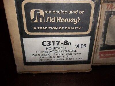 Honeywell L8124g Aquastat High Limit Relay Sid Harvey C317-8r