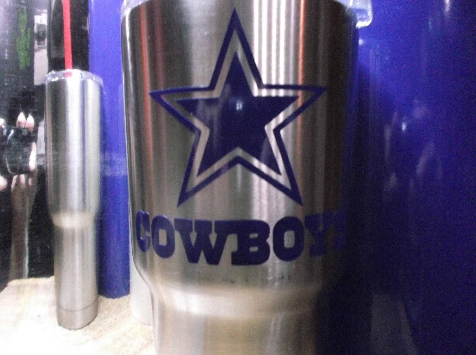 Dallas Cowboys Decal for Rambler,Tumbler, Car,Truck, Beer Mu
