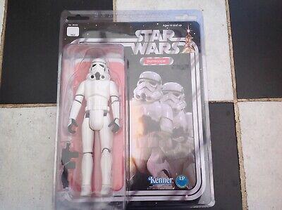 "Original Star Wars Stormtrooper 12"" Gentle Giant Jumbo Kenner 12 Back Figure MOC"