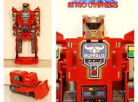 Astro Changers Vanguard Bulldozer - Buffalo Robot Transformer - Anni '80 - astro - ebay.it