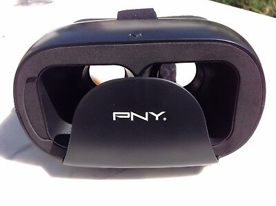 PNY THE DISCOVERY VIRTUAL REALITY HEADSET PURCHASED BUT NEVER USED BOXED NEW.