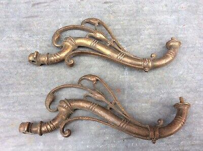 ART NOUVEAU BRONZE PIANO CANDLE HOLDER / SCONCE ARMS, SPARES, FREE UK DELIVERY