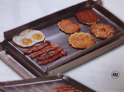 Make-a-griddle 12 Commercial Steel Griddlegrill Plate 2 Burner Stovetop