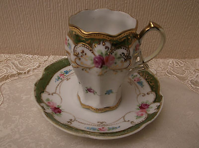 Noritake vintage cup and saucer