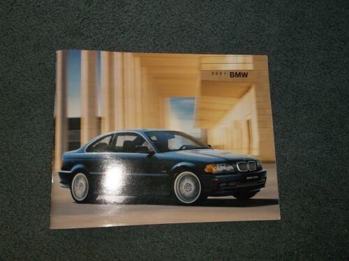 2001 BMW Brochure