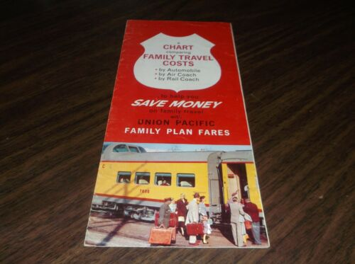 JULY 1959 UNION PACIFIC FAMILY TRAVEL COSTS BROCHURE