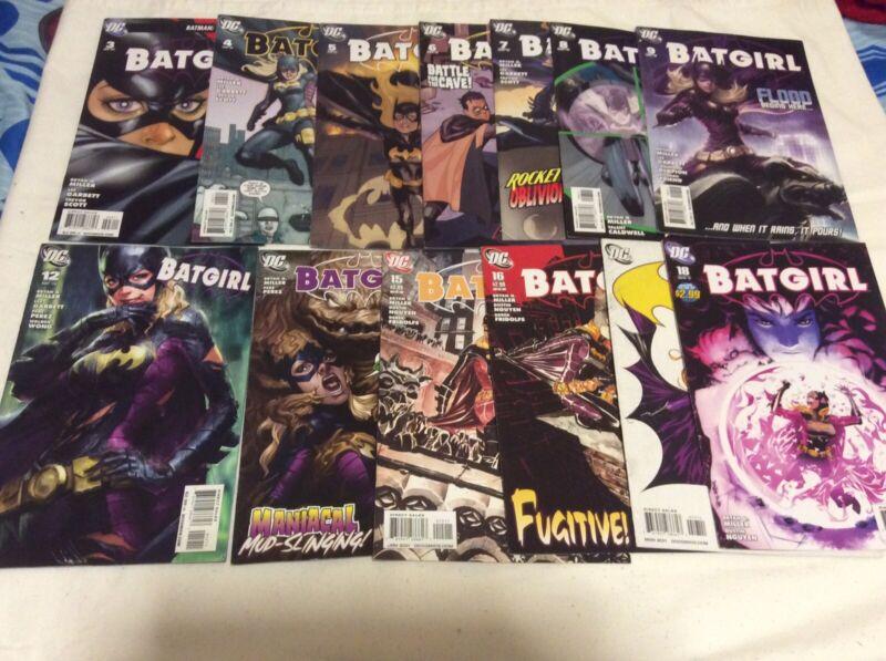 """Batgirl #12 2010 Stanley Lau """"Artgerm"""" Cover Low Print Run #3-9,12,13,15-18"""