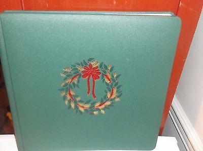 Изготовление и оформление Christmas Album Scrapbook