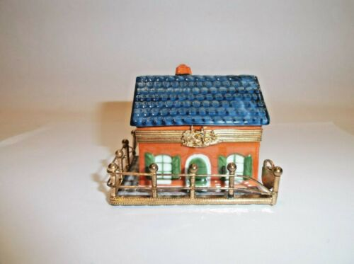 Peint Main Limoges Trinket-French Home