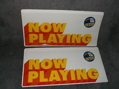 New York State Lottery   Play Slip Ticket Holders   New   Lot Of 2   Ny Lottery