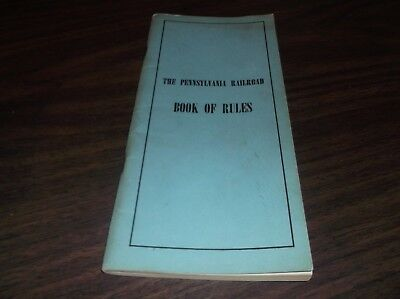SEPTEMBER 1951 PRR PENNSYLVANIA RAILROAD BOOK OF RULES   for sale  Garden City