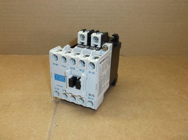 S-N12-AC550V Mitsubishi NEW Magnetic Contactor SN12AC550V S-N12-AC550 S-N12