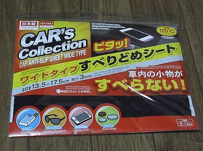 JAPAN DAISO Car Anti-slip sheet wide type 5.3in. x 6.9in. new free shipping
