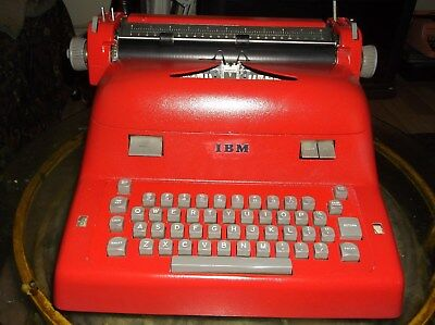 Ibm Antique 1950s Model B Typewriter Re-furbished