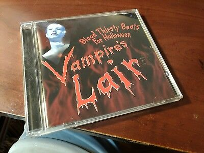 Dave Halloween (DAVE MILLER VAMPIRES LAIR BLOOD THRISTY BEATS FOR HALLOWEEN CD)