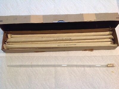 Box Of 7 Kimble Measuring Pipettes 5ml In 110ml No. 37020 Newnos