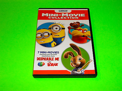MINIONS DESPICABLE ME THE LORAX CHARACTERS 7 MINI MOVIE COLLECTION DVD - Lorax Characters